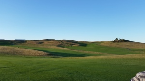 Holes 7 & 8 are no easy stretches on the golf course with the radical changes in elevation and difficult greens.